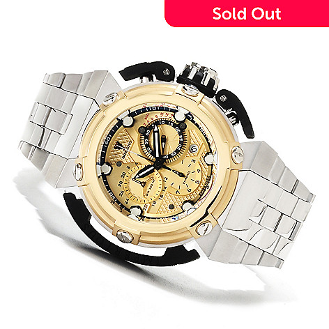 622-494 - Imperious Men's X-Wing Swiss Made Quartz Chronograph Stainless Steel Bracelet Watch