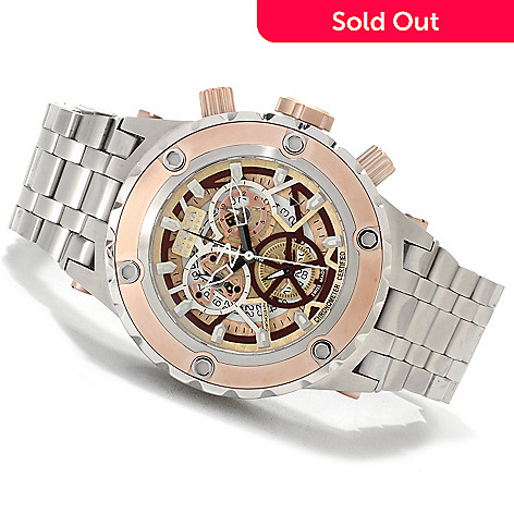 622-501 - Invicta Reserve 52mm Specialty Subaqua Swiss Made COSC Chronograph Bracelet Watch