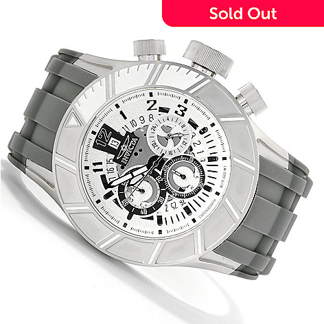622-528 - Invicta 50mm Pro Diver Slicer Quartz Chronograph Stainless Steel Strap Watch