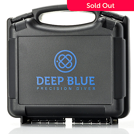 622-568 - Deep Blue Four-Slot Watch Case