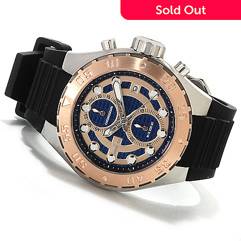622-601 - Invicta Men's Pro Diver Touring Quartz Chronograph Stainless Steel Silicone Strap Watch