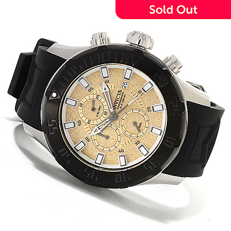 622-603 - Invicta Men's Pro Diver XXL Quartz Chronograph Stainless Steel Silicone Strap Watch
