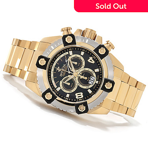 622-604 - Invicta Reserve Men's Grand Arsenal Swiss Made Quartz Chronograph Bracelet Watch
