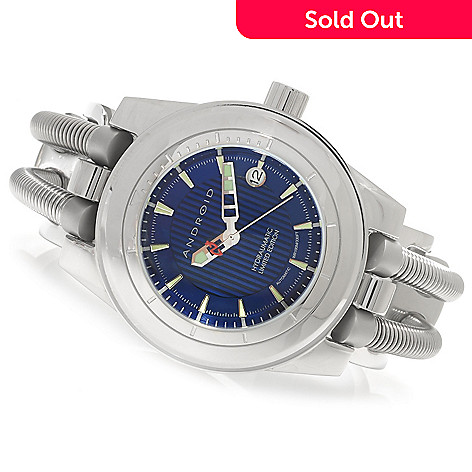 622-622 - Android 46mm Hydraumatic Limited Edition Automatic Stainless Steel Cuff Watch