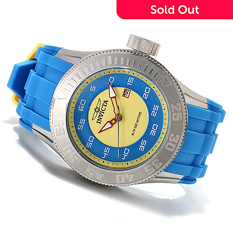 622-673 - Invicta Men's Pro Diver XL Quartz Stainless Steel Polyurethane Strap Watch