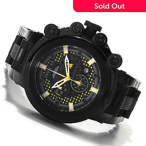 622-691 - Invicta Men's Coalition Forces Trigger Swiss Chronograph Watch w/Three-Slot Dive Case