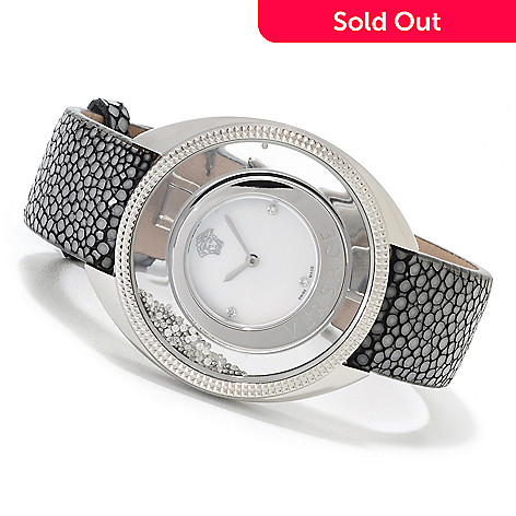 622-737 - Versace Women's Destiny Swiss Made Quartz Stingray Strap Watch