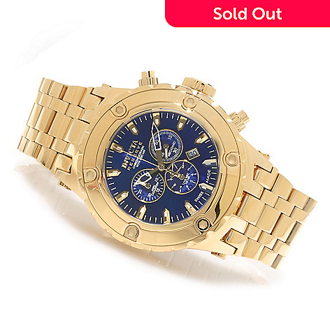 622-782 - Invicta Reserve 52mm Specialty Subaqua Swiss Made Quartz Chronograph Bracelet Watch