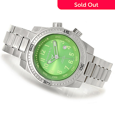 622-962 - Android Men's Frontline Automatic Stainless Steel Bracelet Watch