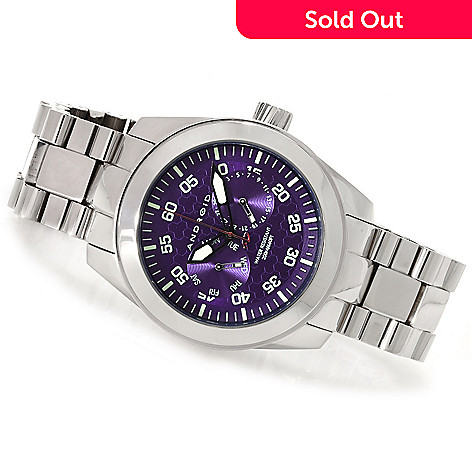 622-963 - Android Men's Armor Quartz Stainless Steel Bracelet Watch