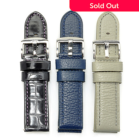 622-968 - Android Set of Three 24mm Leather Strap Set