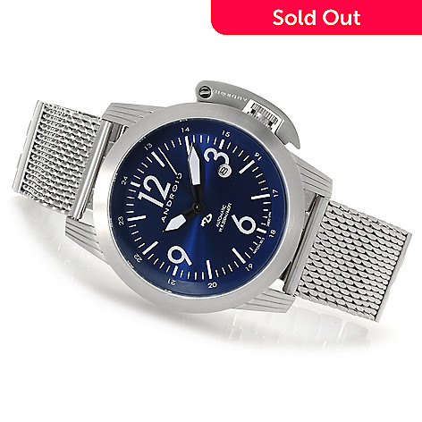 622-983 - Android Men's Skyguardian Automatic Stainless Steel Bracelet Watch
