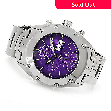 622-984 - Android 48mm Virtuoso T100 Swiss Valjoux 7750 Limited Edition Automatic Tungsten Bracelet Watch