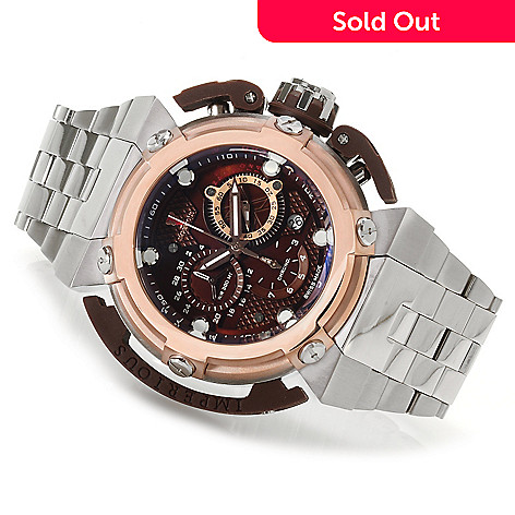 623-016 - Imperious Men's X-Wing Swiss Made Quartz Chronograph Stainless Steel Bracelet Watch