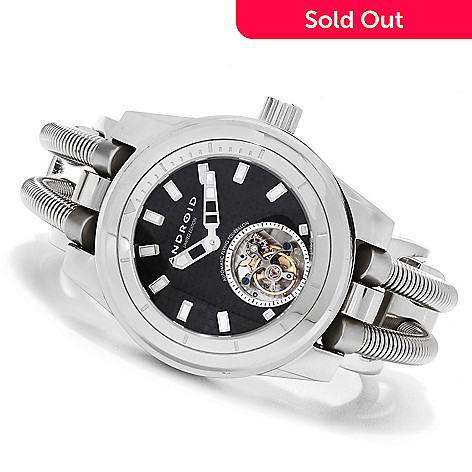 623-019 - Android Men's Hydraumatic G7 Limited Edition Automatic Flying Tourbillon Cuff  Watch