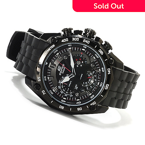 623-026 - Casio Men's Edifice Quartz Chronograph Stainless Steel Strap Watch