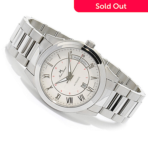 623-138 - Jean Marcel Men's Astrum Limited Edition Swiss Made Automatic Stainless Steel Bracelet Watch