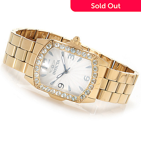 623-353 - Invicta Lady Lupah Exotic Gemstone Limited Edition Stainless Steel Bracelet Watch
