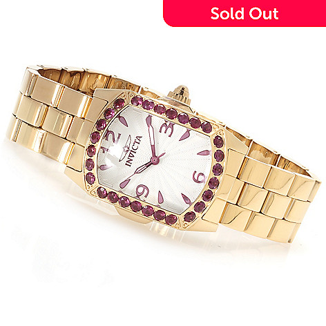 623-355 - Invicta Lady Lupah Exotic Gemstone Limited Edition Stainless Steel Bracelet Watch