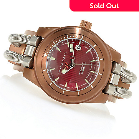 623-365 - Android 46mm Hydraumatic Limited Edition Automatic Stainless Steel Cuff Watch