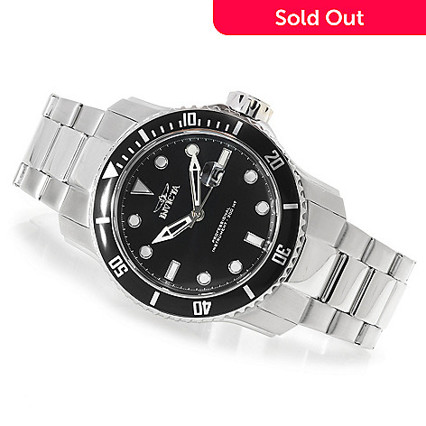 623-398 - Invicta 48mm Pro Diver Scuba II Stainless Steel Bracelet Watch w/ One-Slot Dive Case