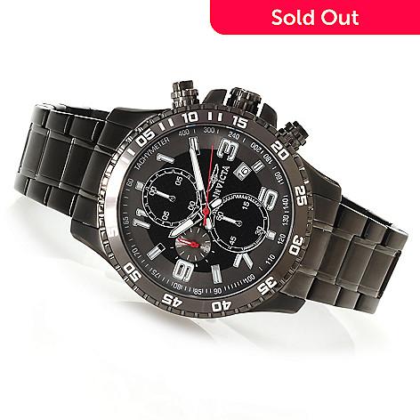 623-475 - Invicta 45mm Specialty Quartz Chronograph Bracelet Watch w/ Three-Slot Dive Case