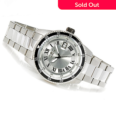 623-484 - Invicta 45mm Pro Diver Automatic Stainless Steel Bracelet Watch
