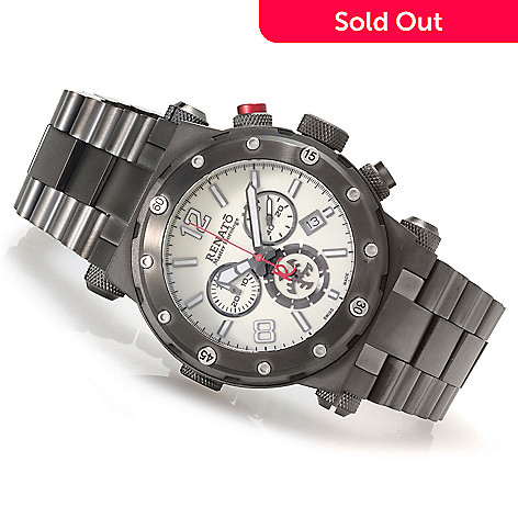 623-538 - Renato Men's Destructor Limited Edition Swiss Made Quartz Chronograph Bracelet Watch