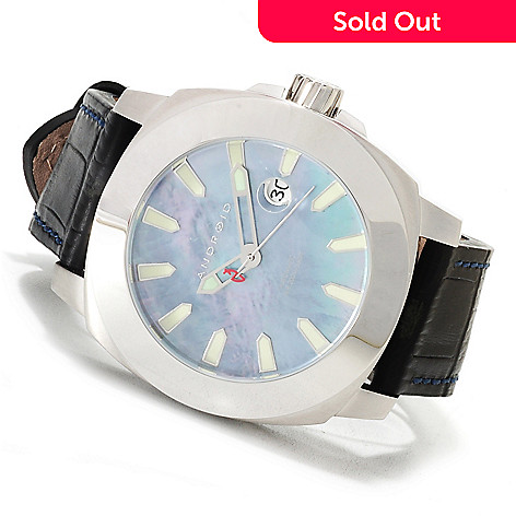 623-654 - Android 47mm Parma 9015 Automatic Mother-of-Pearl Leather Strap Watch