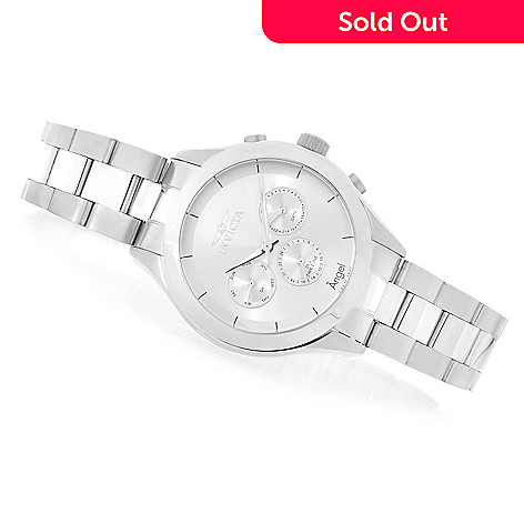 623-700 - Invicta Women's Angel Quartz Multifunction Stainless Steel Bracelet Watch