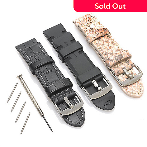 623-737 - Android Set of Three 24mm Straps w/ Screw Driver