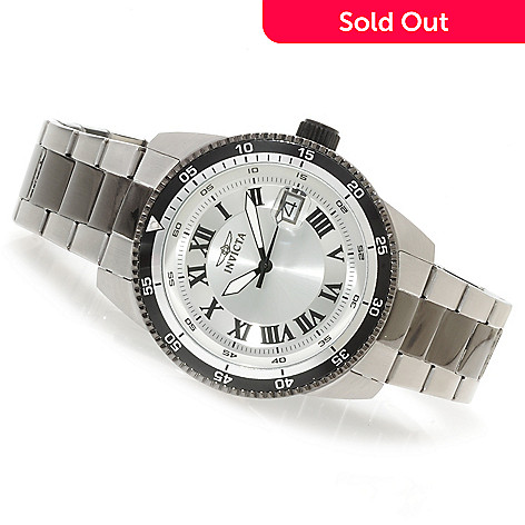 623-751 - Invicta 45mm Pro Diver Elegant Automatic Bracelet Watch w/ Three-Slot Dive Case