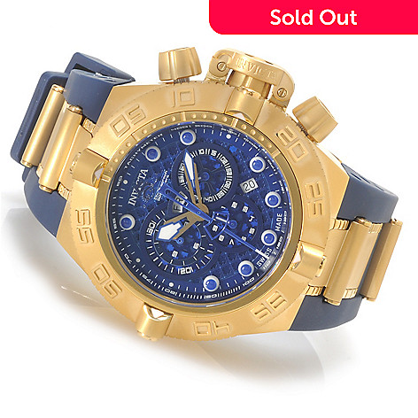 623-797 - Invicta Men's Subaqua Noma IV Swiss Chronograph Rubber Strap Watch w/ Three-Slot Dive Case