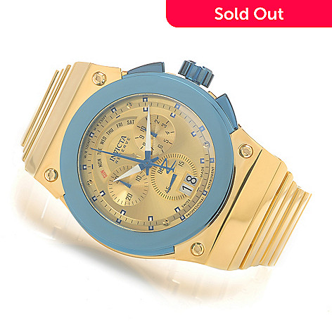 624-043 - Invicta Reserve 52mm Akula Swiss Made Quartz Chronograph Bracelet Watch
