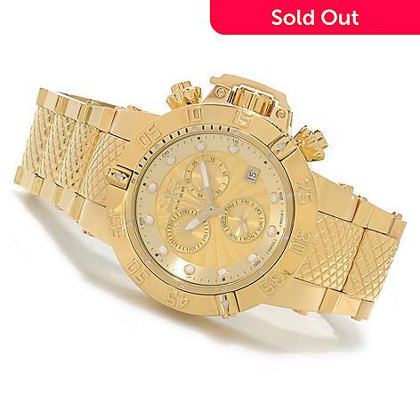 624-724 - Invicta Women's Subaqua Noma III Swiss Chronograph High Polish Bracelet Watch