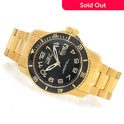624-786 - Invicta 48mm Pro Diver Quartz Stainless Steel Bracelet Watch w/ One-Slot Dive Case