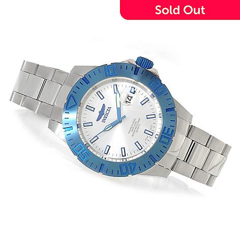 625-636 - Invicta 44mm Ocean Reef Quartz Stainless Steel Bracelet Watch