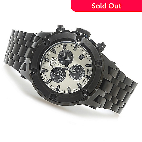 625-642 - Invicta Reserve 52mm Specialty Subaqua Swiss Made Quartz Chronograph Bracelet Watch