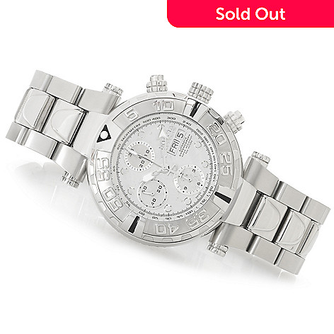 625-654 - Invicta Reserve 47mm Subaqua Noma I Swiss Valjoux 7750 Meteorite Dial Bracelet Watch w/ Dive Case