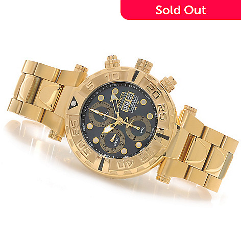 625-658 - Invicta Reserve 47mm Subaqua Noma I Valjoux 7750 Bracelet Watch w/ One-Slot Dive Case