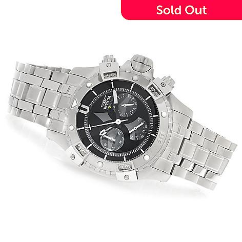 626-366 - Invicta 48mm Aviator Quartz Chronograph Bracelet Watch w/ Eight-Slot Dive Case