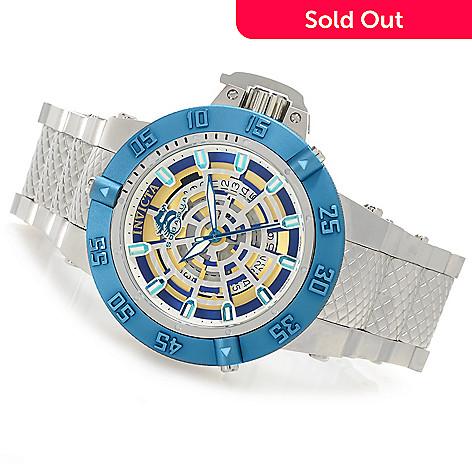 626-451 - Invicta 50mm Subaqua Noma III Spider Swiss Made Quartz Bracelet Watch