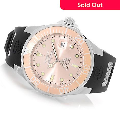 626-610 - Invicta 47mm Grand Diver Automatic Polyurethane Strap Watch w/ One-Slot Dive Case