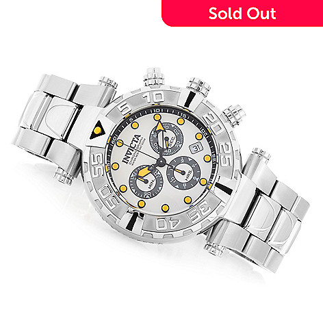 626-628 - Invicta Reserve 47mm Subaqua Noma I Swiss Made Quartz Chronograph Stainless Steel Bracelet Watch