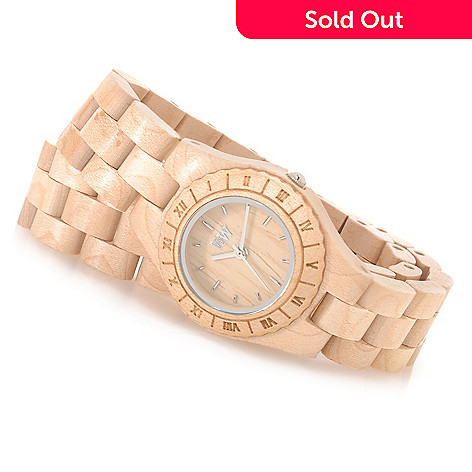 626-781 - WeWOOD Women's ''Venus'' Quartz Wooden Wrap Bracelet Watch