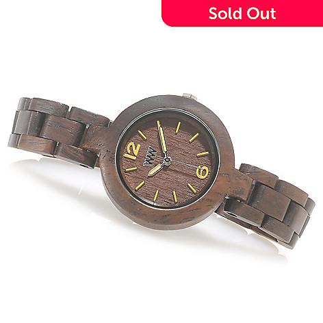 626-783 - WeWOOD Women's ''Mimosa'' Quartz Wooden Bracelet Watch