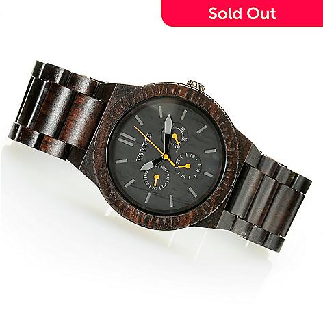 626-784 - WeWOOD 45mm ''Kappa'' Quartz Wooden Bracelet Watch