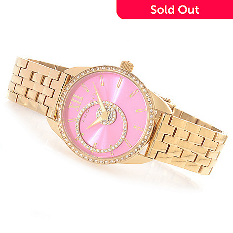 626-834 - Android Women's StarHalo Quartz Stainless Steel Bracelet Watch Made w/ Swarovski® Elements