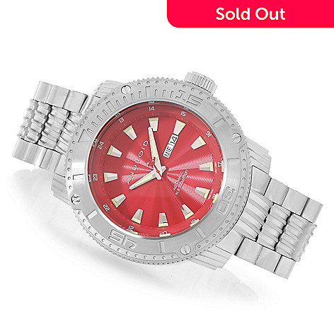 626-875 - Android 55mm Silverjet Automatic Stainless Steel Bracelet Watch