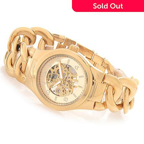 627-199 - Invicta Women's Angel Mechanical Stainless Steel Braided Bracelet Watch